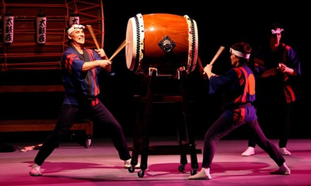 Taikoza at  Peter Jay Sharp Theatre at Symphony Space on October 5 at 7 p.m. (Up to 47% Off)
