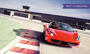 Circuit ICAR: Two Laps Driving a Corvette, Ferrari, or Lamborghini at Circuit ICAR (Up to 50% Off). Four Options.