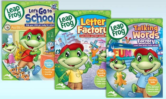 LeapFrog Learning Collection DVDs: LeapFrog Learning Collection DVDs
