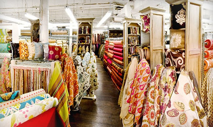 Zarin Fabrics - Lower East Side: Fabric at Zarin Fabrics (Half Off). Two Options Available.