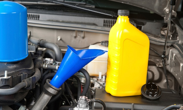 Broadway Shell - Northside: Full-Service Oil Change and Tire Rotation or Brake, Coolant, or Power Steering Flush at Broadway Shell (Up to 56% Off)