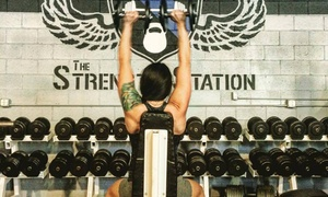 The Strength Station: Four Weeks of Fitness and Conditioning Classes at The Strength Station (70% Off)
