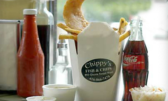 Chippy's Fish & Chips - Trinity - Bellwoods: $15 for $30 Worth of Seafood at Chippy's Fish & Chips