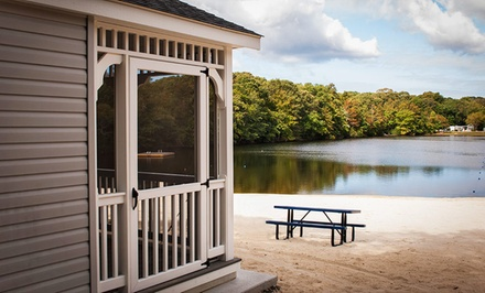 2- or 7-Night Stay in a Campsite or Cottage at Lake Laurie RV and Camping Resort in Cape May, NJ
