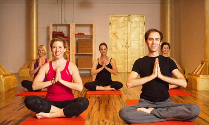 B Yoga Center - B Yoga Center Boston: 10 or 15 Classes at B Yoga Center (Up to 67% Off)