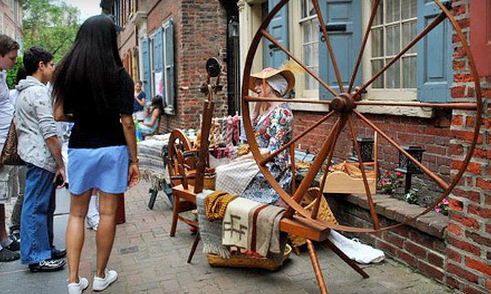 Elfreth's Alley Museum - Elfreth's Alley,Old City,Old City Lounge District: Museum Visit with Guidebooks for Two or Up to Six at Elfreth's Alley Museum (Up to 58% Off)