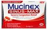 Mucinex Sinus-Max Severe Congestion Relief (3-Pack)