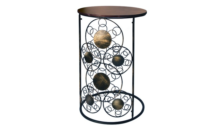 Circle-Motif Sofa Side Table: $24.99 for a Circle-Motif Sofa Side Table ($79 List Price). Free Shipping and Returns.