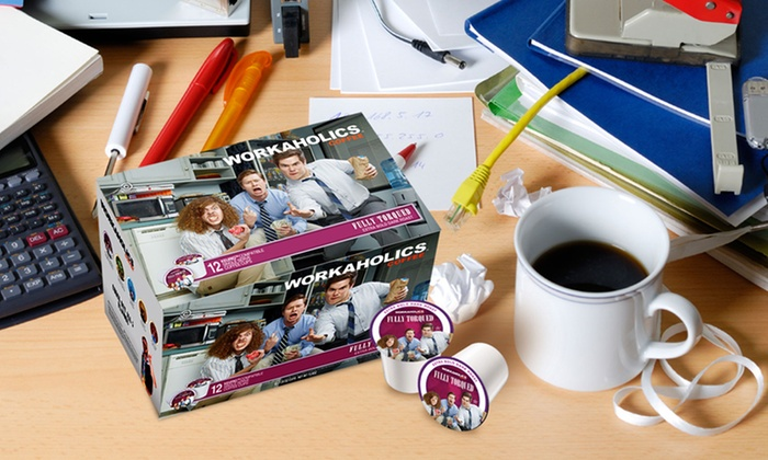 Workaholics Single-Serve Coffee 36-Pack: Workaholics Single-Serve Coffee 36-Pack. Five Options Available.