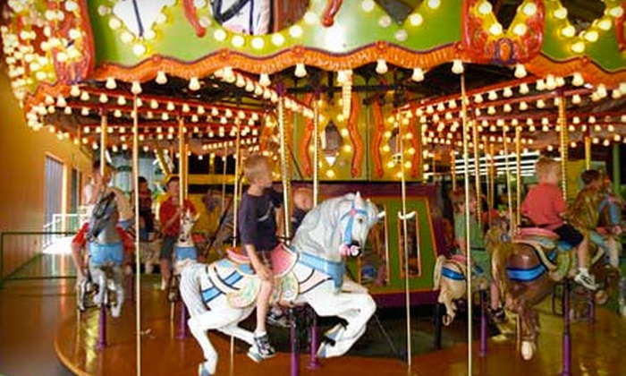 Jungle Jim's Playland - Midvale: $22 for Five All-Day Kids' Play-Land Visits at Jungle Jim's Playland ($44.98 Value)