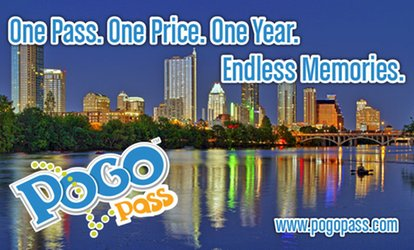 image for $41.50 for One Austin/Waco Pogo Pass with Admission to Cultural Attractions and Events ($124.95 value)