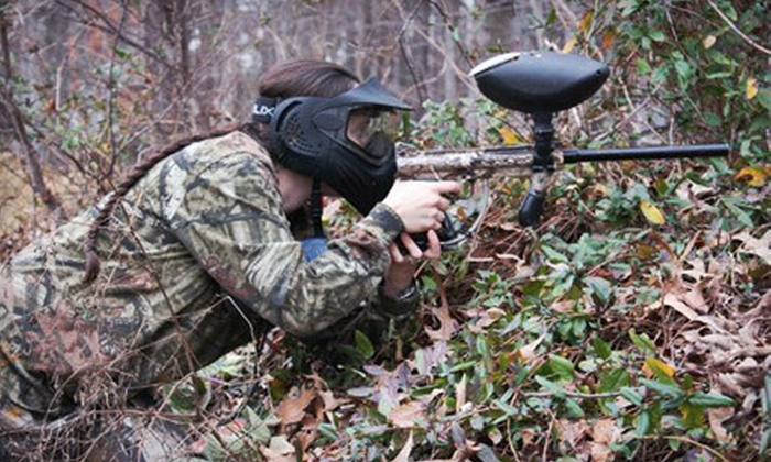 Bethel Battlefield - Bethel Paintball: $19 for an All-Day Paintball Outing with Equipment Rental at Bethel Battlefield in Hampton ($44.95 Value)