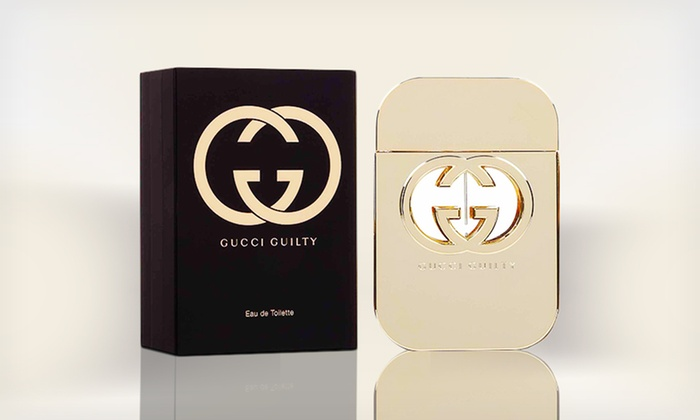 Gucci Guilty Eau de Toilette Spray for Women: Gucci Guilty Eau de Toilette Spray for Women (Up to 40% Off). Two Sizes Available. Free Shipping.