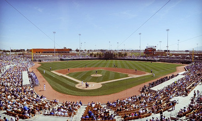 Chicago White Sox or Los Angeles Dodgers Spring Training - Camelback Ranch: $6 for a Chicago White Sox or a Los Angeles Dodgers Spring-Training Game at Camelback Ranch (Up to $15 Value)