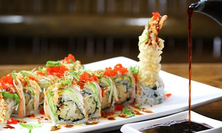 $28 for Two Hours of All-You-Can-Eat Sushi with Three Drinks at Fuji Japnese Restaurant ($44 Value)