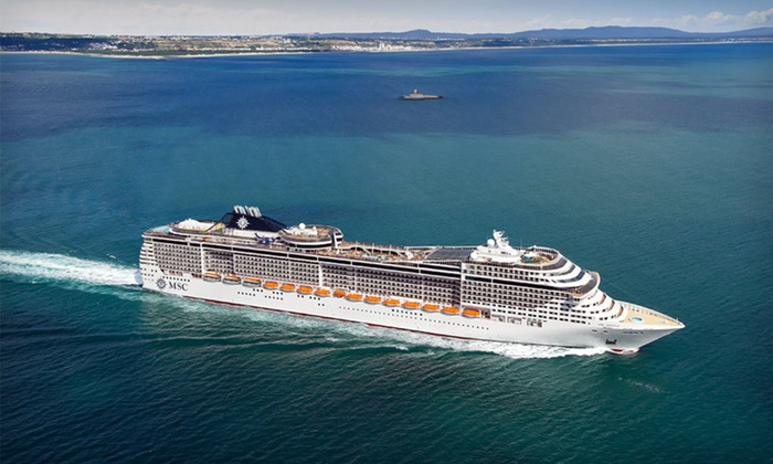 11-Night Caribbean Cruise  - MSC Cruises: 11-Night, 5-City Caribbean Cruise with All Meals and Optional Excursions from MSC Cruises