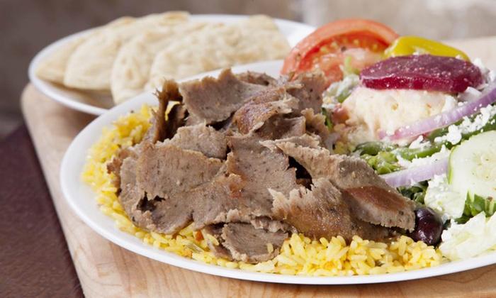 Little Greek Fresh Grill - Coppell: Greek Food for Two or Four at Little Greek Fresh Grill (44% Off)