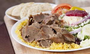 Little Greek Fresh Grill: Greek Food for Two or Four at Little Greek Fresh Grill (56% Off)