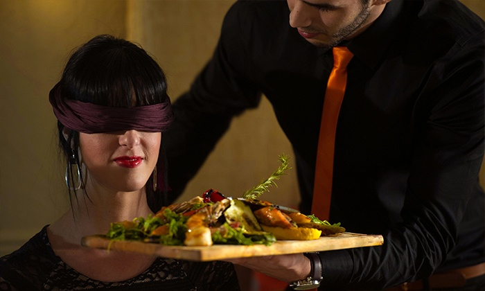 Catharsis Restaurant & Lounge - Coral Way: Dinner in the Dark Experience for Two at Catharsis Restaurant & Lounge (37% Off)