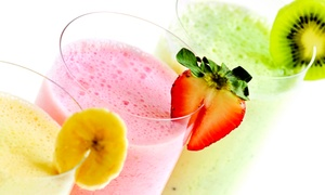 $11 For Two Groupons, Each Good For $10 Worth Of Smoothies At The Smoothie Stop ($20 Total Value)