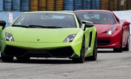 In pista su Ferrari o Lamborghini