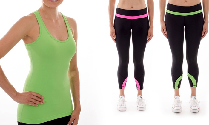 90 Degree by Reflex Capris and Tops: 90 Degree by Reflex Capris and Tops. Multiple Styles Available.