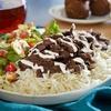 Shawarma or Falafel Meal