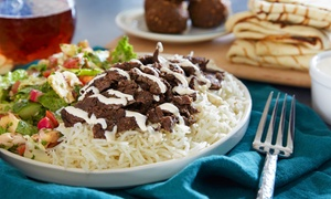 Yemen Kitchen: Middle Eastern Food for Takeout at Yemen Kitchen (Up to 50% Off)