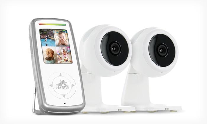 Levana Era Elite Digital Baby Monitor : $99.99 for a Levana Era Elite Digital Baby Monitor with Two Cameras ($398.98 List Price)