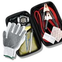 12 Piece Roadside Emergency Kit w/Jumper Cables