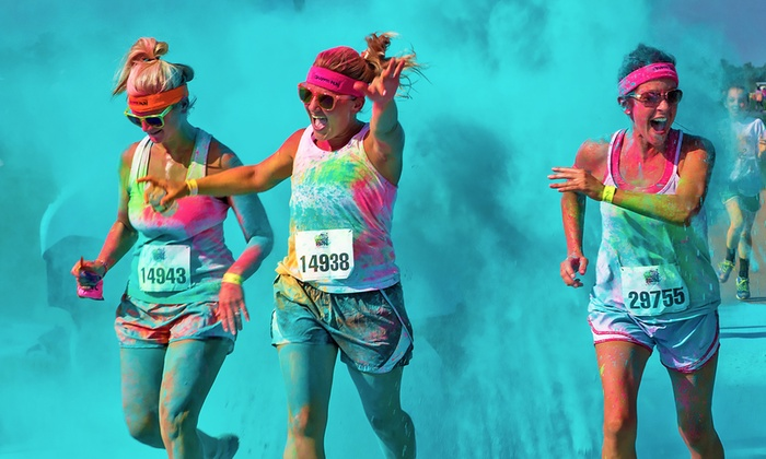 The Colorful 5K - L.A. Fairplex: $25 for 5K Registration from The Colorful 5K on Sunday, March 15 ($50 Value)