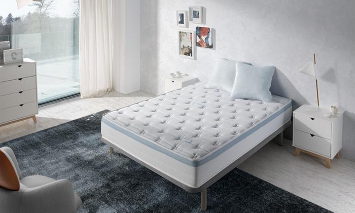 visco gel matras groupon goods. Black Bedroom Furniture Sets. Home Design Ideas