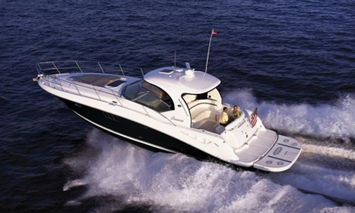 Charleston Charter and Yacht - Charleston: $889 for a Two-Night Yacht Stay with Charter and Golf or Massages from Charleston Charter and Yacht ($1,785 Value)