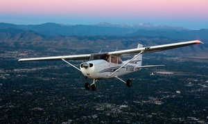 Aspen Flying Club: $299 for Flight Package with Discovery Flight and Aviation 101 Program at Aspen Flying Club ($629 Value)