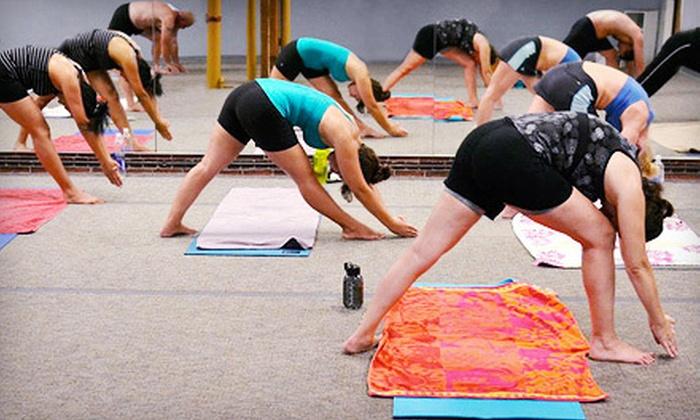 Bikram Yoga Merrimack Valley - North Andover: 10 or 15 Classes at Bikram Yoga Merrimack Valley in North Andover (Up to 71% Off)