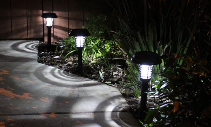 bluedot trading solar pathway bug zapper lights 2pack bluedot trading led - Solar Pathway Lights