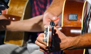 Guitar Lessons NYC: Two or Four One-Hour Private Guitar Lessons at Guitar Lessons NYC (Up to 59% Off)