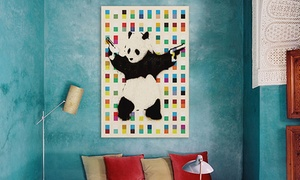 Banksy Prints On Gallery-wrapped Canvas From $49.99 To $69.99