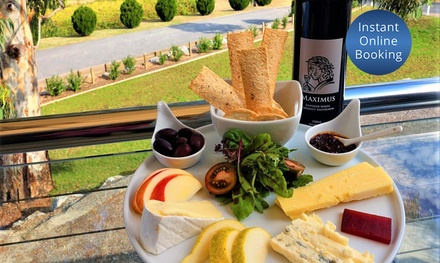 McLaren Vale Reds Tasting + Produce Platter + Bottle of Wine $35 or 4 $69 at Maximus Wines Up to $160 Value