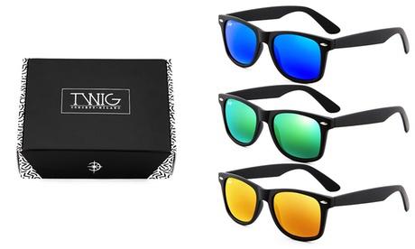 Pack de 3 gafas de sol Twig Concept Milano