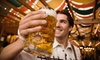 Gardiner Main Street - Gardiner: Swine and Stein Oktoberfest for Two or Four with Beer Samples at Gardiner Main Street (Up to 58% Off)