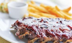 Whispers Restaurant & Bar: Dinner for Two or Four at Whispers Restaurant & Bar (Up to 45% Off)