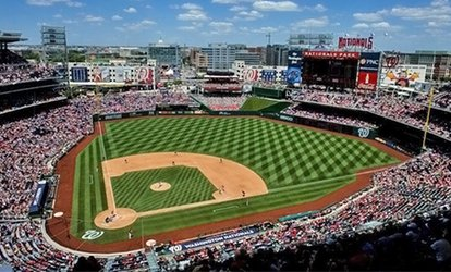 Up to 46% Off Washington Nationals Baseball Game (Pick from 30+ Different Games July 5 -September 26)
