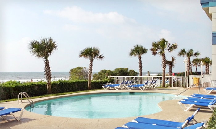 null - Charleston: Stay at Best Western Plus Carolinian Oceanfront Inn and Suites in Myrtle Beach, SC. Dates Available into April.