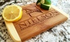 Up to 86% Off Custom Cutting Boards from Qualtry