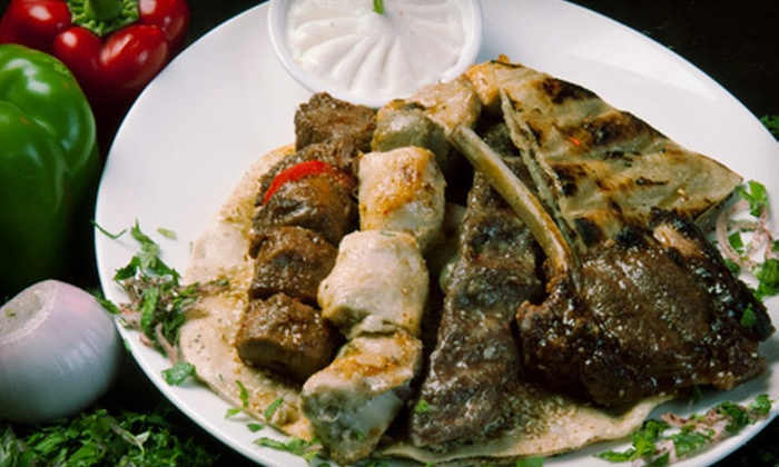 Kabob Bazaar - Multiple Locations: Persian Dinner Cuisine for Two or More or Four or More at Kabob Bazaar (Half Off)