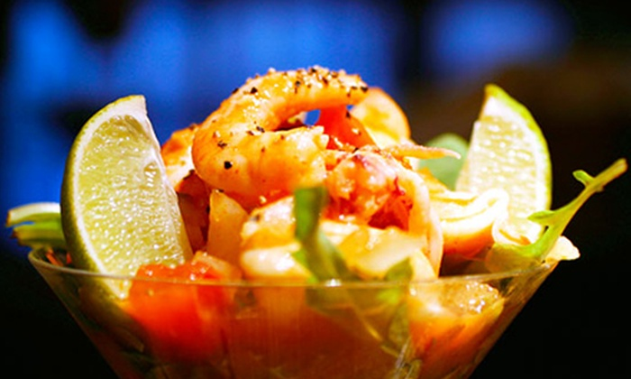 Ceviche Tapas Bar & Restaurant - Central Business District: $25 for $50 Worth of Tapas During Dinner at Ceviche Tapas Bar & Restaurant