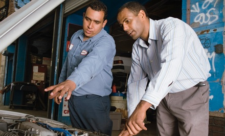 State Safety Inspection w/ Emissions Test or Oil Change w/ Tire Rotation at Columbia Auto Repair (Up to 52% Off)