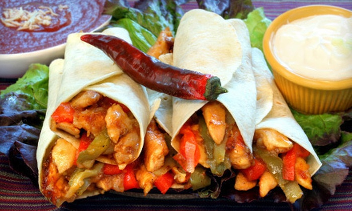 La Siesta - Downtown Columbia: Mexican Food at La Siesta (Half Off). Two Options Available.