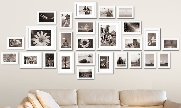 Wall Photo Frame Set Groupon Goods
